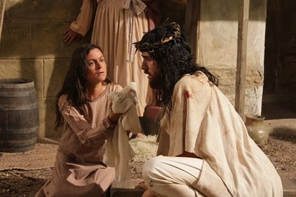 Rodrigo Santoro plays the role of  Jesus / Paramount