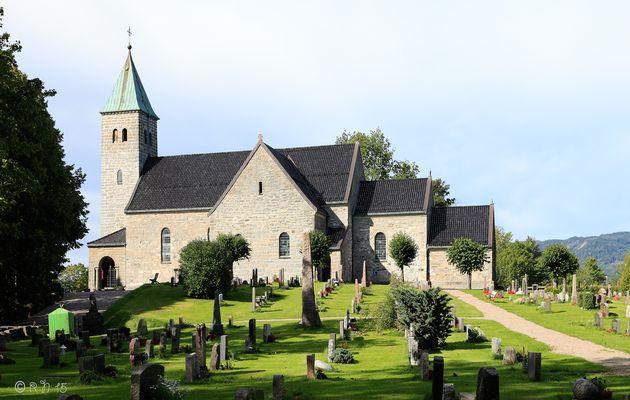 Gjerpen church in Norway,
