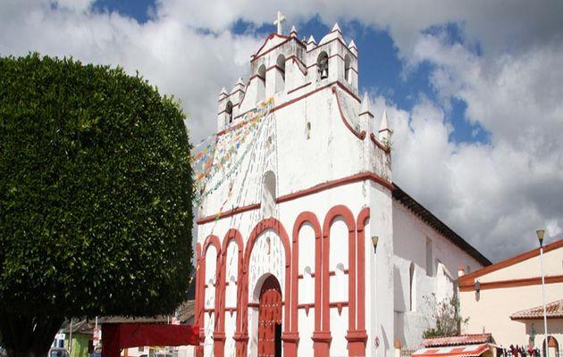Saint Agustine Roman Catholic Church in Teopisca. / turismochiapas.org,teopisca, persecution, evangelicals, mexico, chiapas