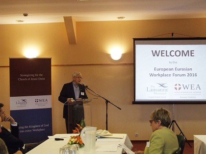 Jerry White introduces the Conference.