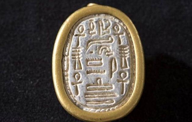 The seal found in Haifa. / U. of Haifa,