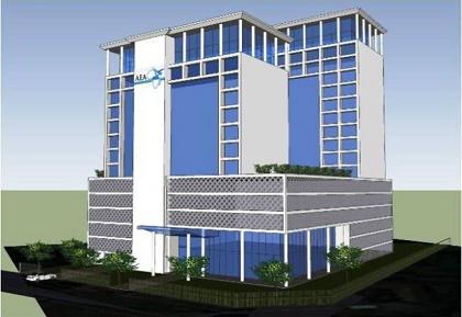 The plannednew AEA centre, in Kenya. / AEA