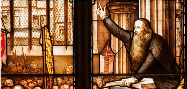 The picture that I've used is John Knox preaching in St. Giles Cathedral.,knox, scotland, reformation