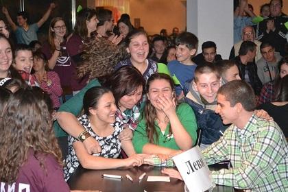 Teen Bible Contest - Levi team wins the contest. /  G. Dimitrov)
