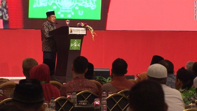 Indonesia's Vice President Jusuf Kalla, opned the Summit. ,