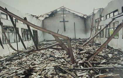 Many churches have been demolished in the last year.