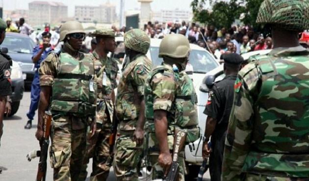The NIgerian army took Pandogari after the outbreak of violence. / Information NGG,pandogari, nigeria, niger, violence