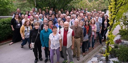 Many volunteers made the conference possible. / FOCL