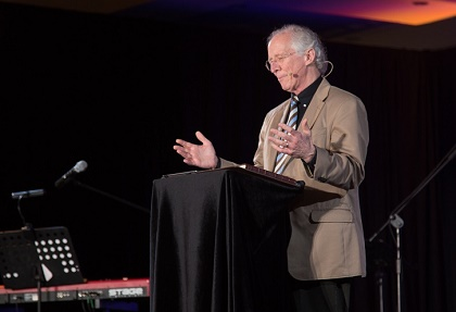 John Piper preached from Philippians. / FOCL