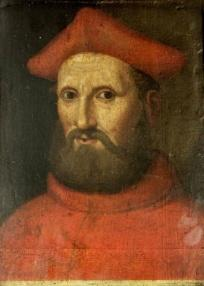 The leading Catholic thinker behind the Colloquy of Regensburg, Cardinal Gasparo Contarini.