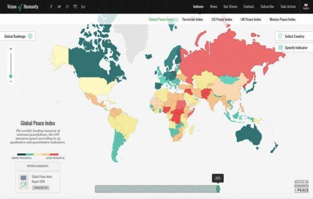 Global Peace Index /IEP,