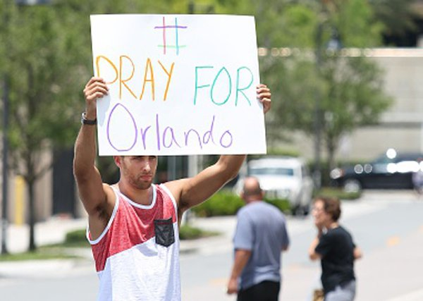 Many are praying for Orlando worldwide,