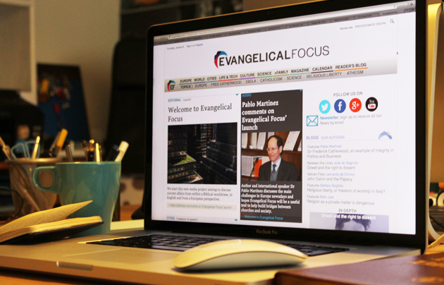 Evangelical Focus was launched in January 2015.,