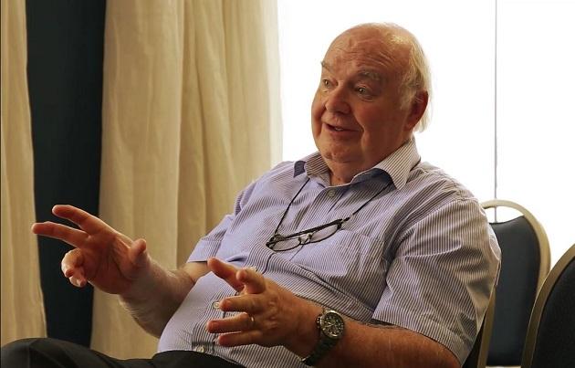 John Lennox, during the interview with Evangelical Focus, in Tarragona (Spain). / Luis Neira,john lennox, evangelical focus