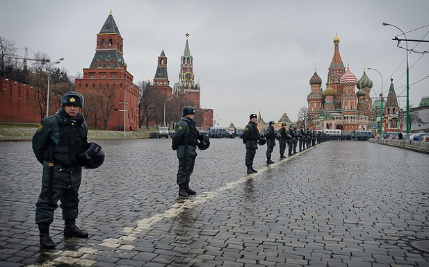 Police in Moscow, Russia. / Evgeniy Isaev,russia, evangelicals, police