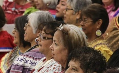Native American Christians./  Baptist News