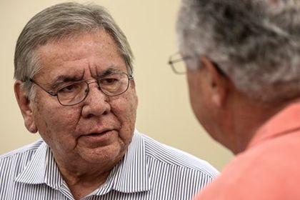 Emerson Falls, former chairman of FoNAC. / Baptist News