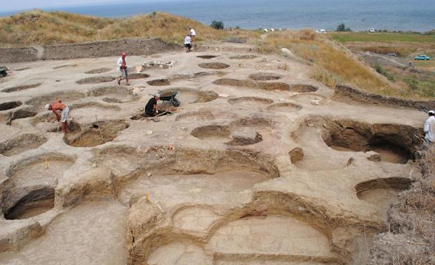 The ancient Greek site of Phanagoria were the inscription has been found. / Oleg Deripaska Volnoe Delo Foundation,