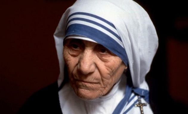 Mother Theresa has become a saint of the Roman Catholic Church. ,