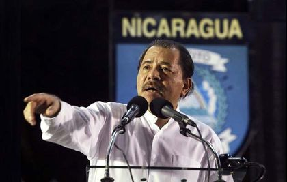 Daniel Ortega, President of Nicaragua.
