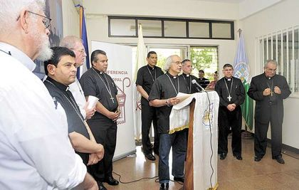 The Roman Catholic Nicaraguan Episcopal Conference press conference.