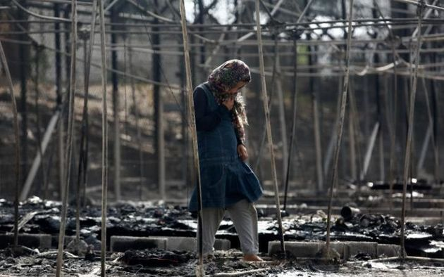 The blaze forced at least 4,000 residents to flee. / Reuters,