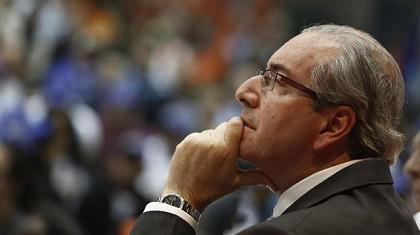 Eduardo Cunha propelled the impeachment against Dilma Rousseff. / La Nación