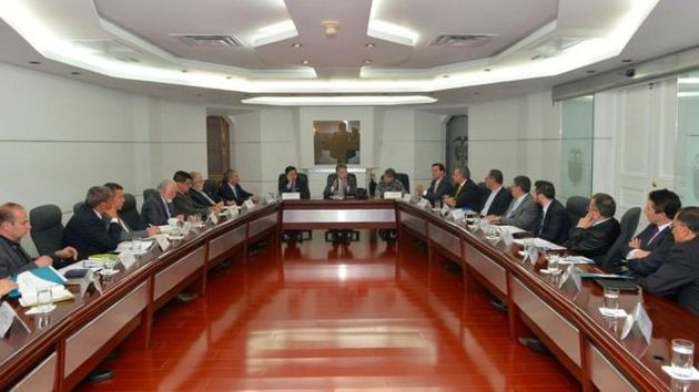 The president of Colombia, Juan Manuel Santos held a meeting with evangelical leaders after the referendum.,
