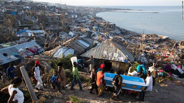Around 2.1 million people, have been affected by the hurricane.,