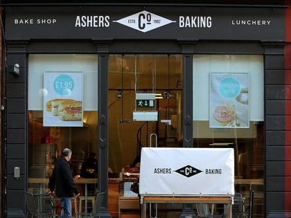 The Ashers bakery.
