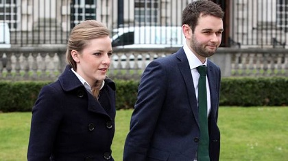 Ashers Bakery general manager Daniel McArthur and his wife Amy. / Belfast Telegraph