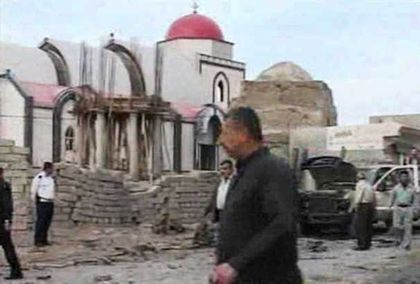 Qaraqosh is one of the cities more damaged by Daesh