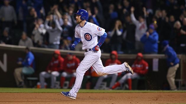 Ben Zobrist, Chicago Cubs player. / Chicago Tribune,