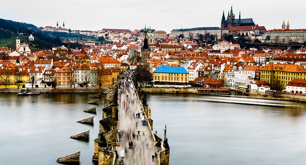 A view of Prague. / Tore Bustad (Flickr, CC),prague