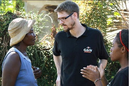 Miqueas Forster in Haiti. / GAiN Spain