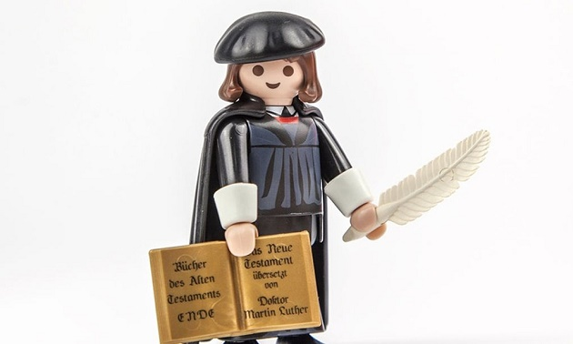 The Luther Playmobil. / Playmobil,Playmobil Luther