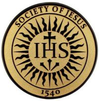 The emblem of the Society of Jesus (Jesuits).