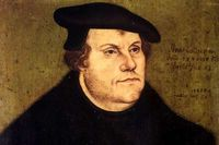 The German Reformer Martin Luther who championed the doctrine of justification by faith alone in Christ alone.
