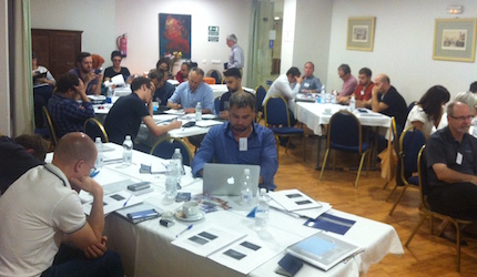 Thirty participants, from 19 different countries have attended the meeting.