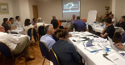 This was the first CBMC/Business Ministry Training held in Europe.