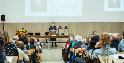 Anja Klug during his session. / Simon Billeter