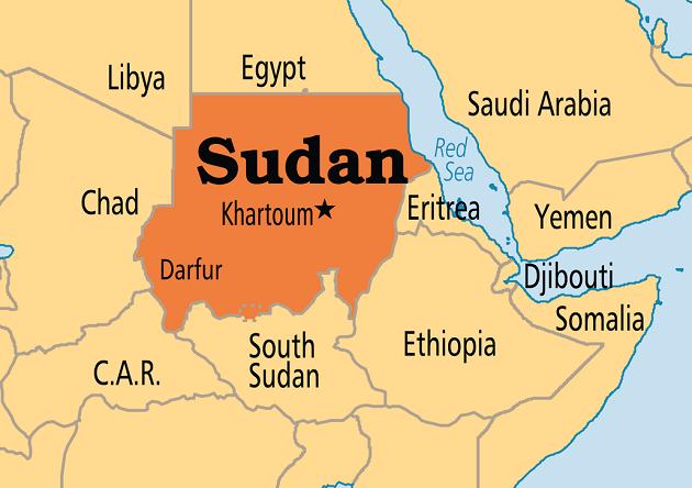 Sudan, in Africa. / Operation World,