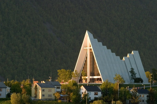A Church of Norway cathedral in Tromsoe. / Wikimedia,