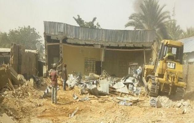 Nigerian authorities have demolished 2 church buildings in Dutse, the capital of Jigawa state. / WWM,