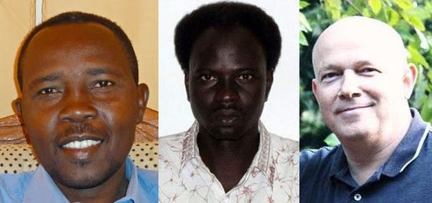 The case against the three men centred around Jasek's support for a Sudanese student.,