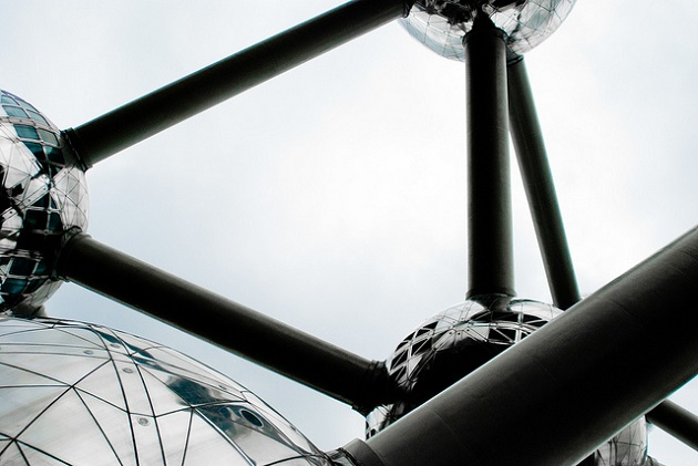 An icon of Brussels, the Atomium. / Jam Faborsky (Flickr, CC),atomium