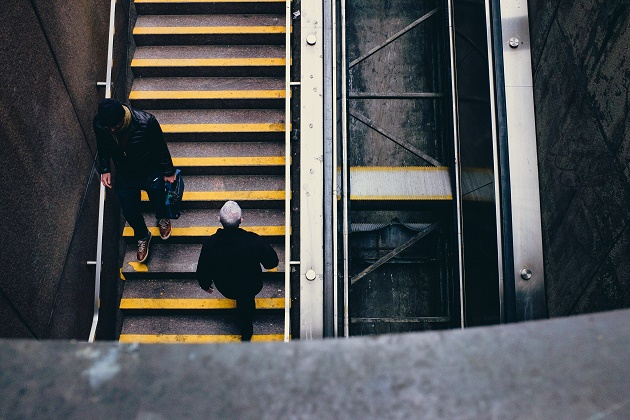 Photo: Andrew Branch (Unsplash, CC),city, stairs