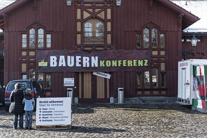 The conference was held in Winterhur. / Bauernkonferenz