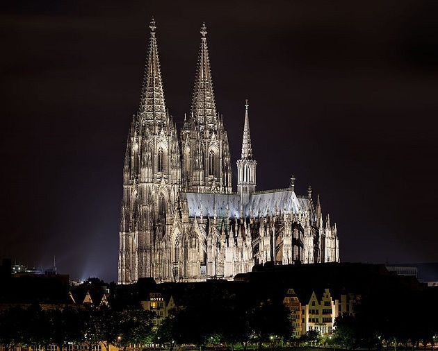 The Cologne Roman Catholic cathedral, in Germany. / Wikimedia,