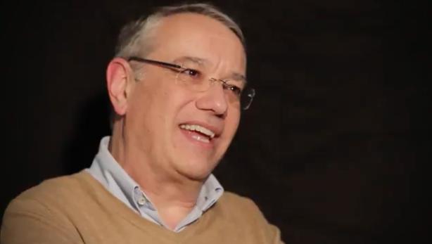 Jaume Llenas, during the interview. / Juan Pablo Serrano,jaume llenas